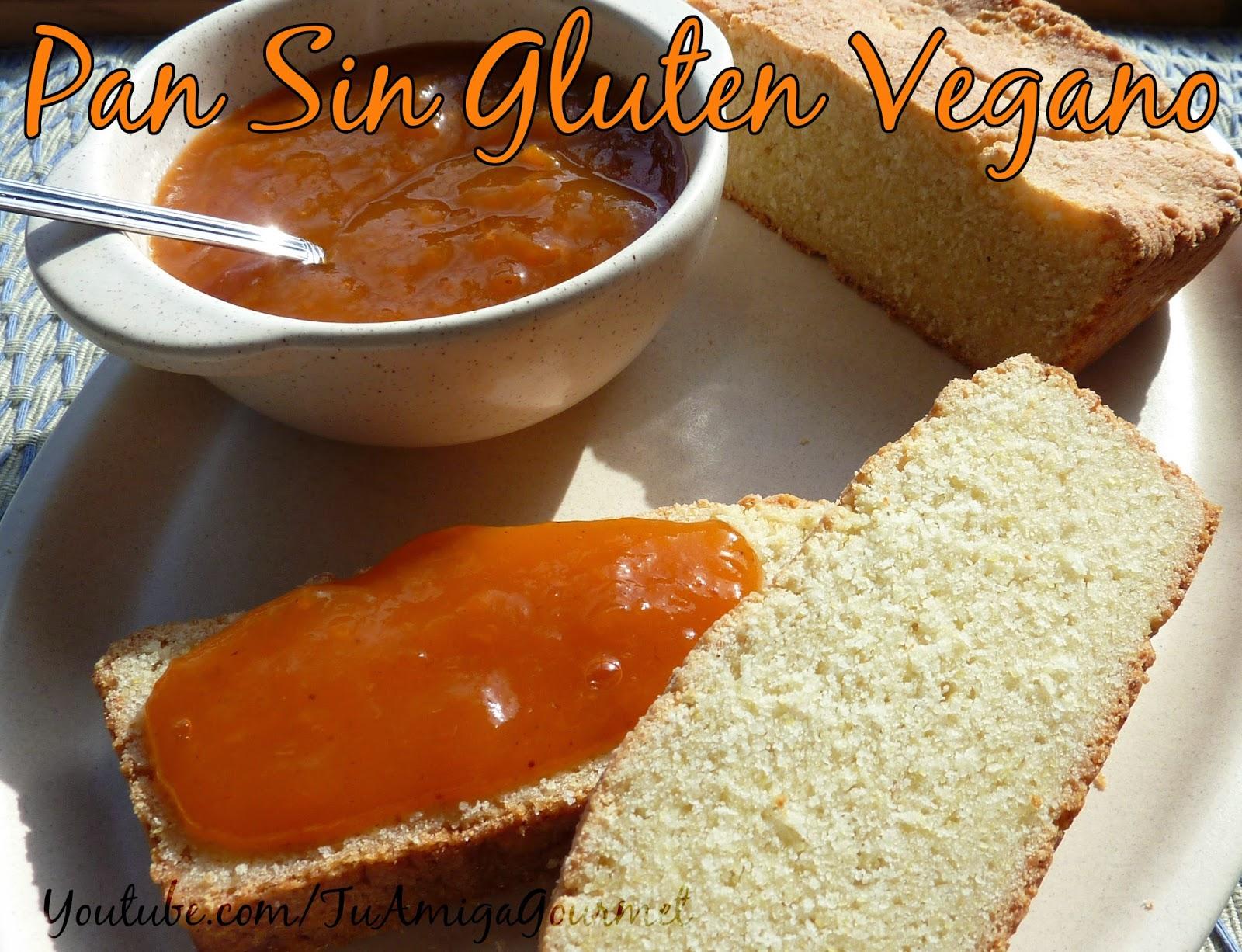 Receta: Cómo preparar un riqísimo Pan Vegano 4 harinas, sin gluten