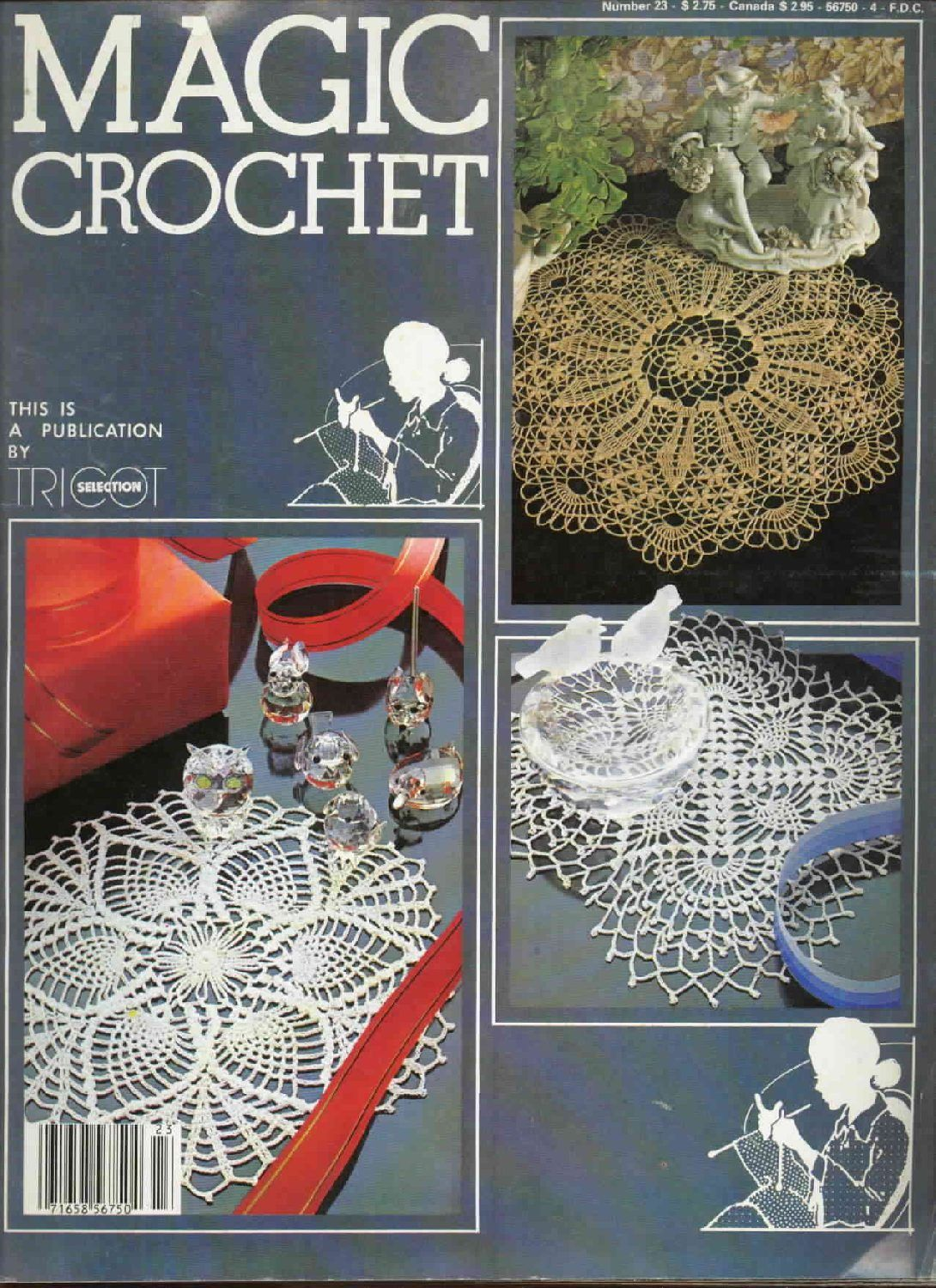 Magic Crochet No. 23 ~ Free Crochet Patterns