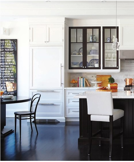 Kitchen Inspiration White Cabinets: Color Outside The Lines: Kitchen Inspiration Month: Day 17