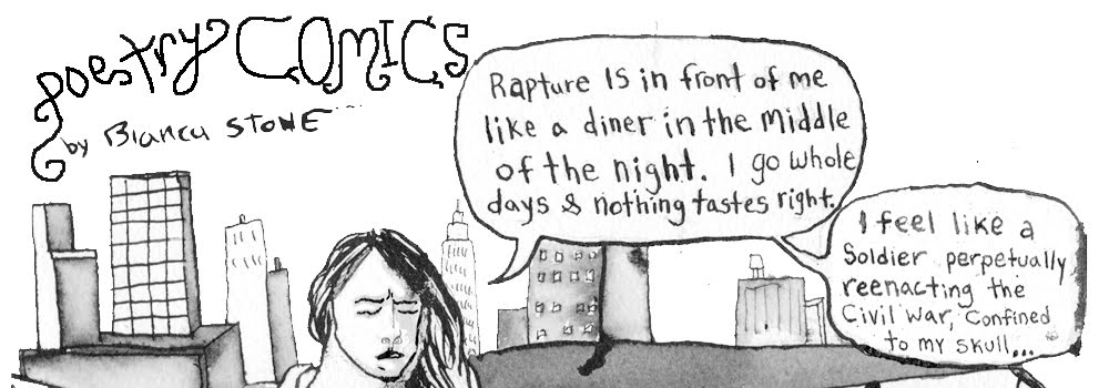 POETRY COMICS BIANCA STONE
