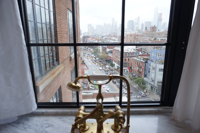 bowery hotel new york city bathroom bathtub