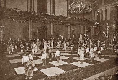 Fiestas de la Merced en Barcelona en 1904