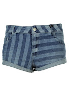 Pantaloni scurti Pull and Bear Unia Blue (Pull and Bear)