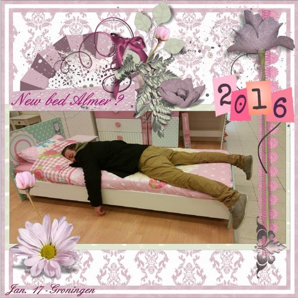 May 2016 - New bed Almer ?