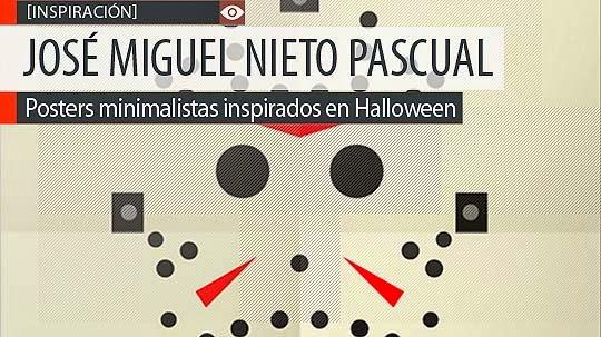 Diseño de horror minimalista de JOSÉ MIGUEL NIETO