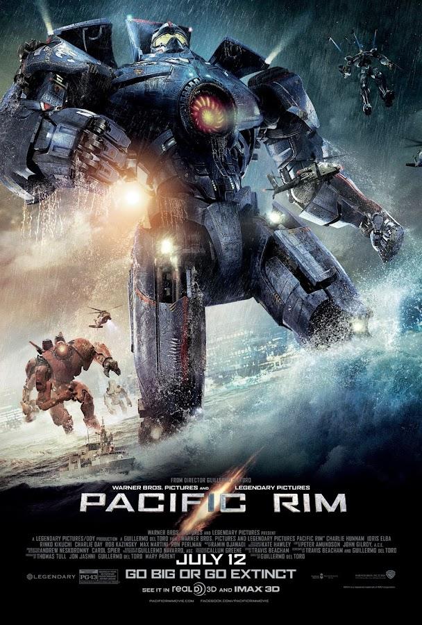 ตัวอย่างหนังใหม่ : Pacific Rim (สงครามอสูรเหล็ก) ตัวอย่างที่ 3 ซับไทย poster