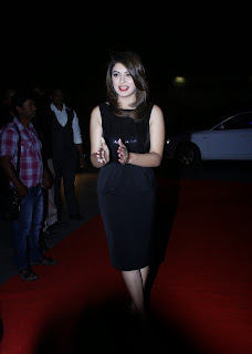Hansika Motwani Latest Pictures in Black Dress at iphone 6 Launch ~ Bollywood and South Indian Cinema Actress Exclusive Picture Galleries