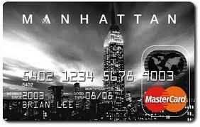 kartu kredit manhattan