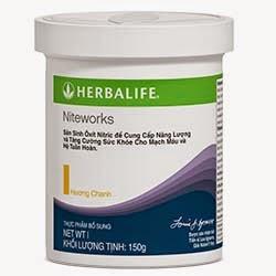 Niteworks Herbalife Tim mạch, Sinh Lý bằng L-Arginine
