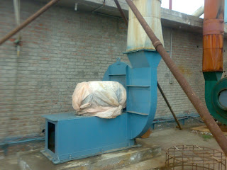 Sulfuric Acid Plant image of blower to suck the air or oxegen