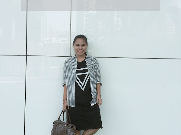 Outfit Diary : Black and white | Stubborn me
