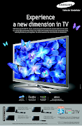 More LED TV has been introduced by Samsung. Samsung has created an ad to .