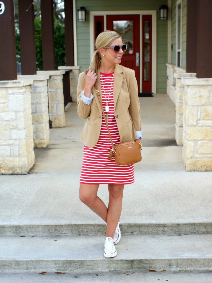 Old navy Stripe Jersey Shift Dress