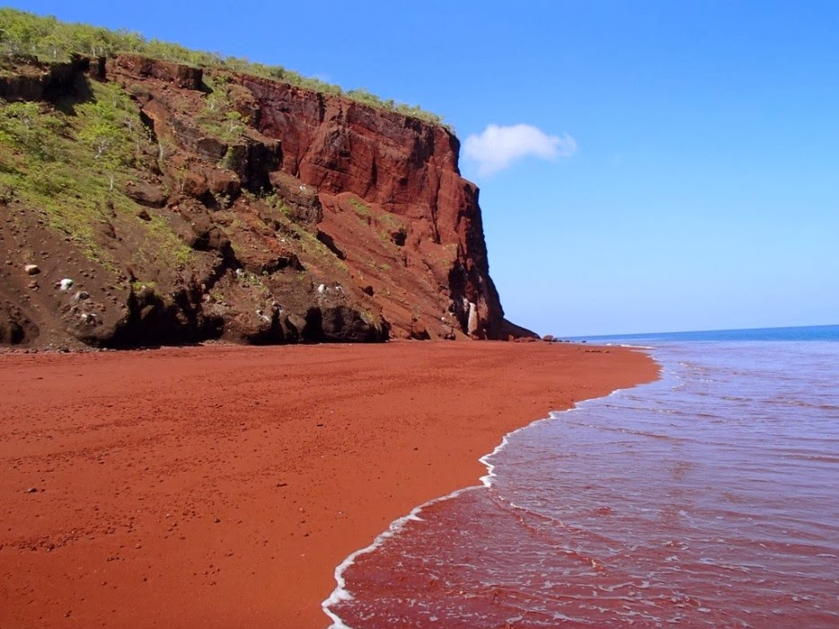 plages rouge
