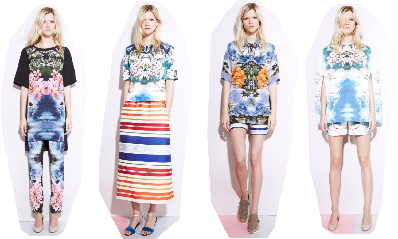 Stella McCartney Resort 2012 Hawaiian prints