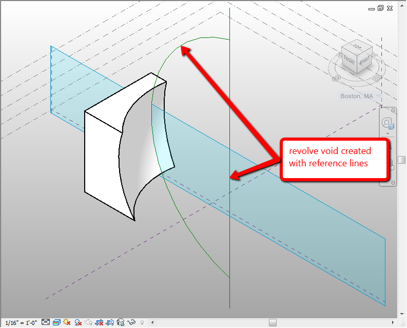 how to cut an image in revit