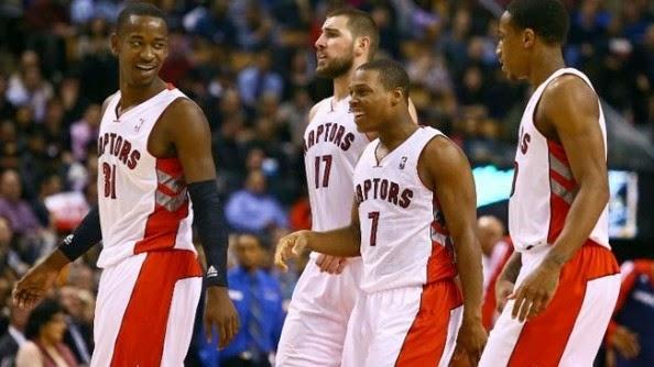 Los Raptors vuelven al Playoff NBA