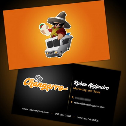 10) Business Card