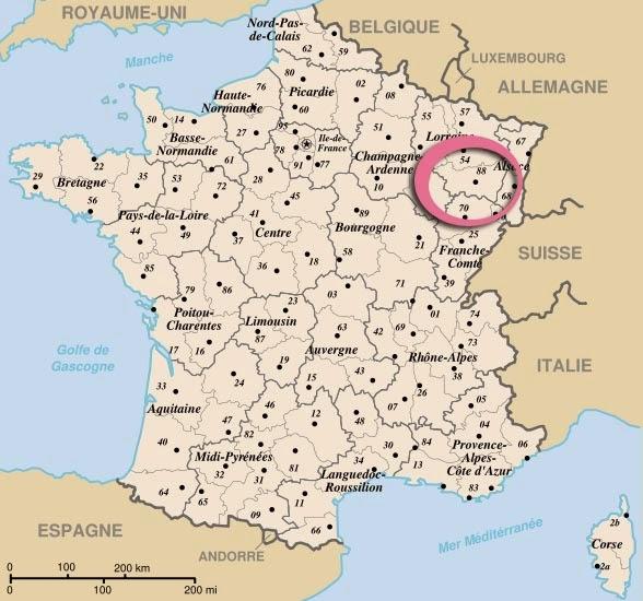 Cela se passe..sur les Vosges !!!.