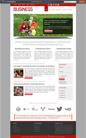 Free Wp Theme Responsive BUSINESS