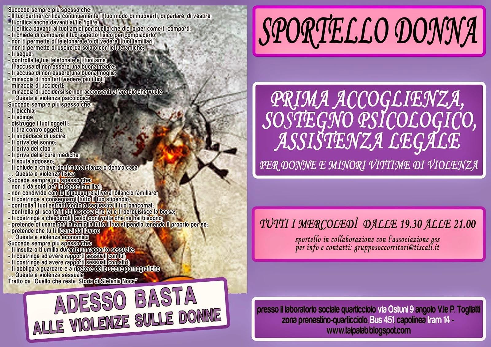 Sportello Donna