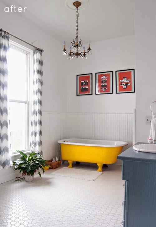 Nová kúpeľna s citrónovou vaňou