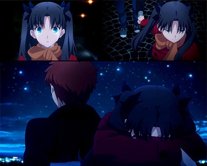 Shirou X Rin tohsaka - Fate/stay night unlimited Blade Works season 2 episode 1