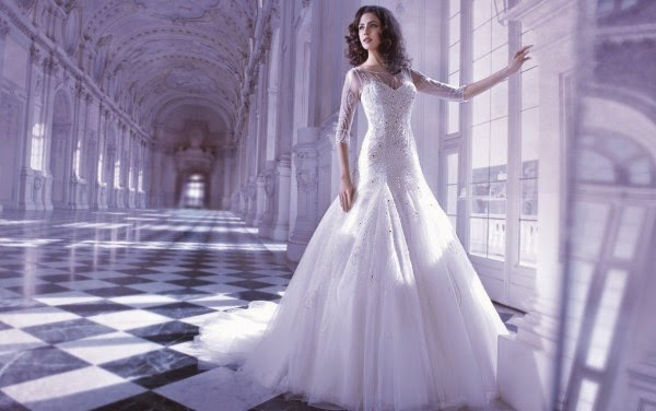Romantic Wedding Dresses by Demetrios Couture 4