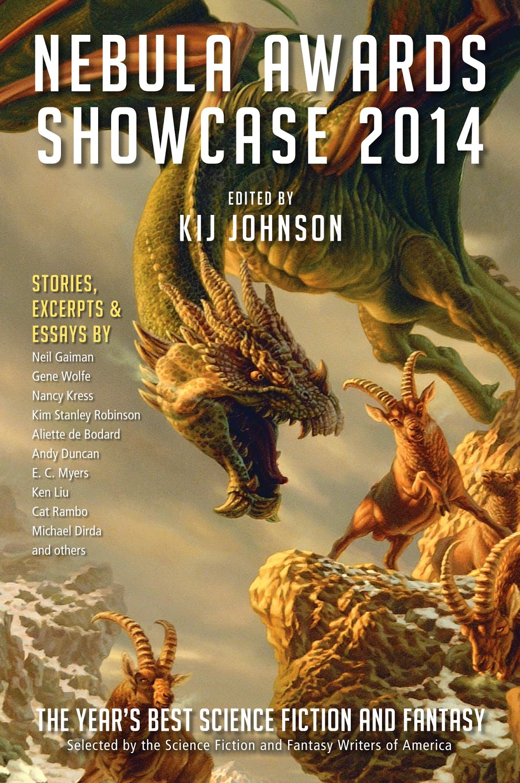 The Nebula Awards Showcase 2014 edited by Kij Johnson
