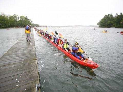 World's longest kayak, US longest kayak, longest kayak built in US, 2012 longest kayak, longest kayak picture, longest kayak in the world, longest kayak trip, longest solo kayak trip, best kayak camping trips, longest kayak solo expedition, world record longest kayak