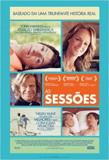 "Poster do filme ""As Sessões"""