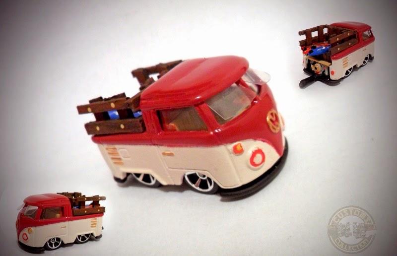 Hot Wheels Trucks Customs: Itasha Datsun 620 - Kool Kombi ...