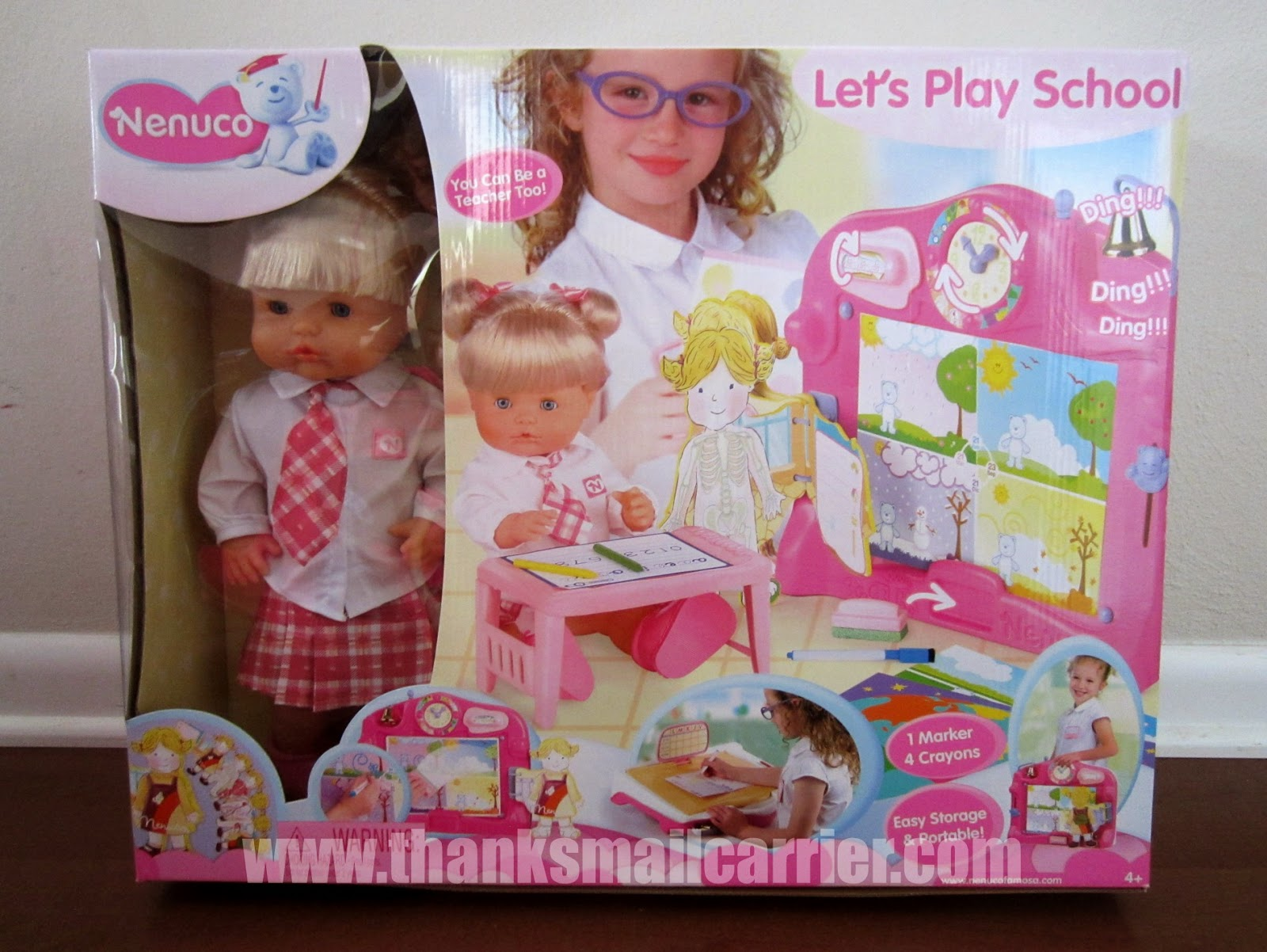 Nenuco Let's Play School doll