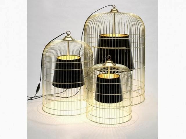 les cages oiseaux font la d co caract rielle. Black Bedroom Furniture Sets. Home Design Ideas