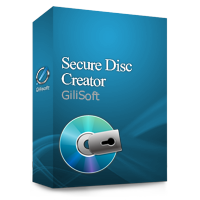 برنامج GiliSoft Secure Disc Creator 4.6 لنسخ CD & DVD وحمايتهم بكلمه مرور