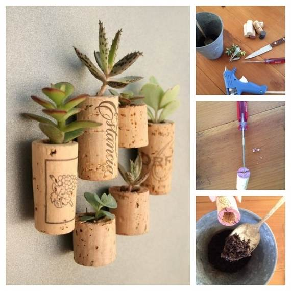 The bloomin 39 couch cool craft ideas with old wine corks for Cool things to do with a wine bottle