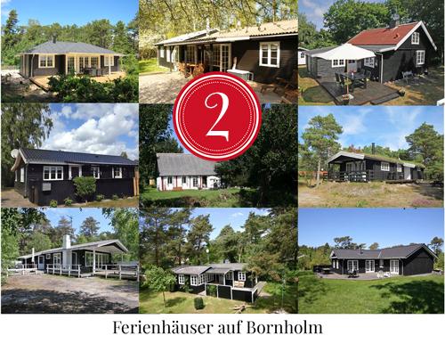 Amalie loves Denmark - Adventskalender 2014 Ferienhäuser auf Bornholm
