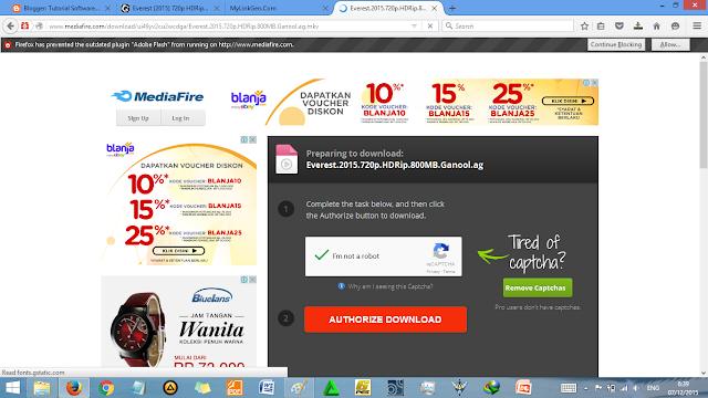 Cara Download Film di Ganool Sekejap