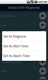 Nokia 3310 Ringtones - Nada Dering untuk Android