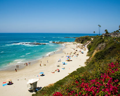 Beautiful Beach California