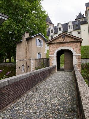 Puerta Corisande del Chateau de Pau
