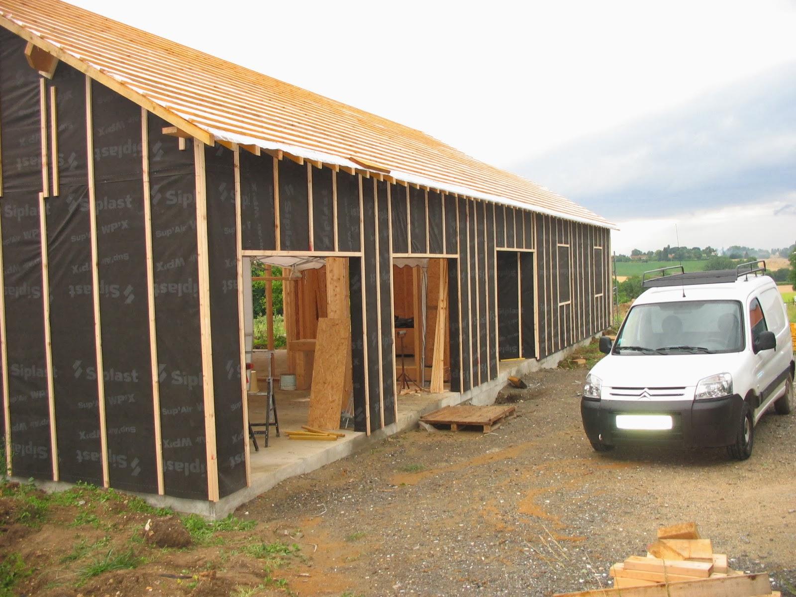 construire sa maison en bois le litonage le pare pluie. Black Bedroom Furniture Sets. Home Design Ideas