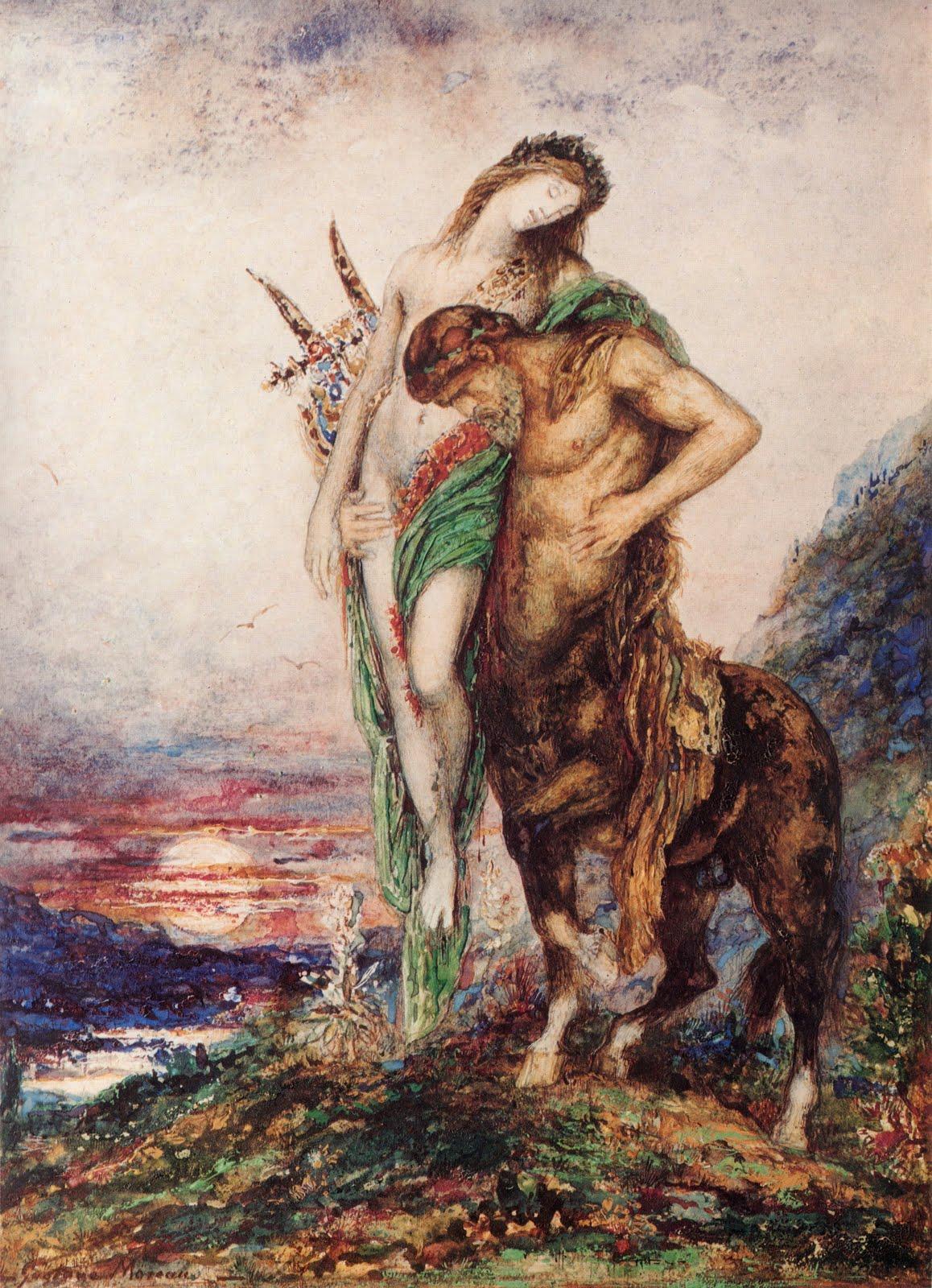 gustave moreau centaur