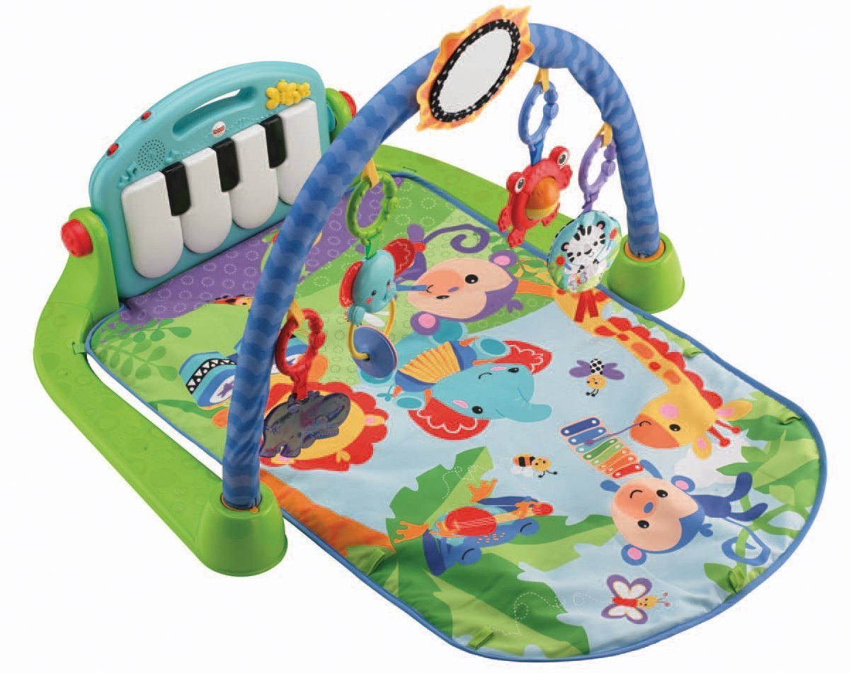 FISHER PRICE: KICK 'N' PLAY BABY PIANO GYM MAT - Keep Up with the Jones Family