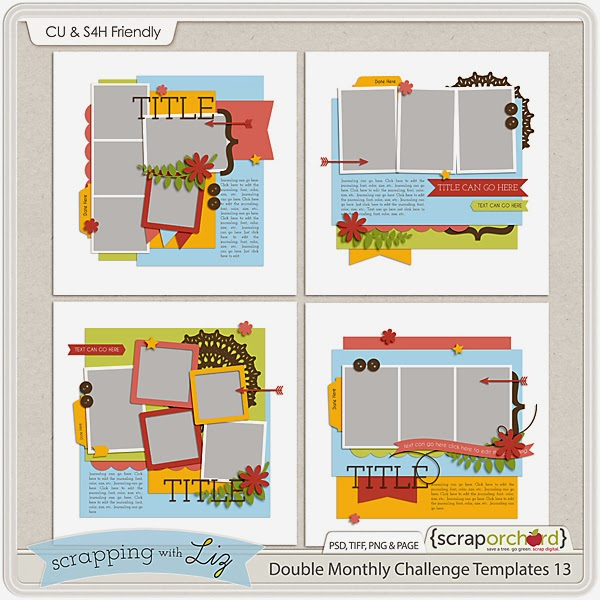 http://scraporchard.com/market/Double-Monthly-Challenge-13-Digital-Scrapbook-Templates.html