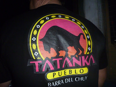 Baile Tatanka en la Barra del Chuy - Uruguay. Barra del Chuy. Balneario uruguayo. Balneario de Rocha