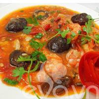 Ngon cơm với tôm rán xốt cà chua
