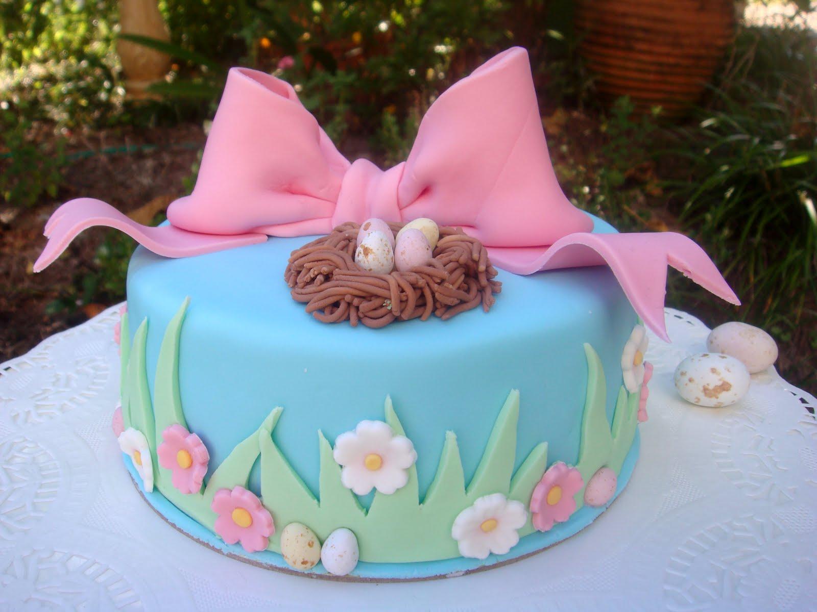 Easter Cake Design Photos : butter hearts sugar: Cute Easter Cakes