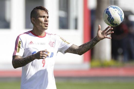 Guerrero empolgado com clássico desta quarta-feira contra o Vasco