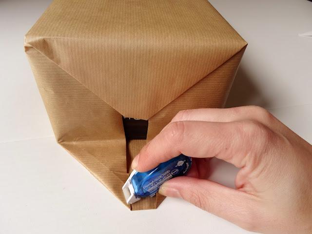 como hacer una bolsa de papel